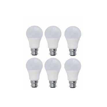 Syska 7W PAG LED Bulb White Pack of 6
