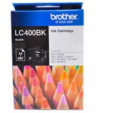 Brother LC-400BK Black Ink Cartridge - Black