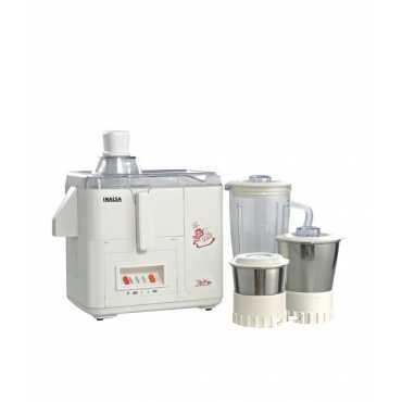 Inalsa Star Dx 3 Jars 500W Juicer Mixer Grinder - White