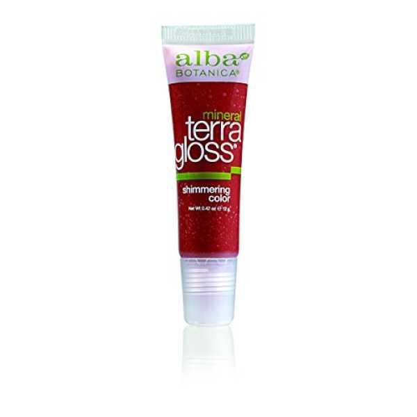 Alba Botanica Garnet Terra Gloss Tinted Lip Gloss (Garnet)