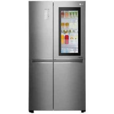 LG GC-Q247CSBV 687 L 3 Star Side By Side Door Refrigerator