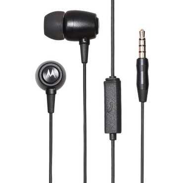 Motorola IPX4 Metal Headset - Black