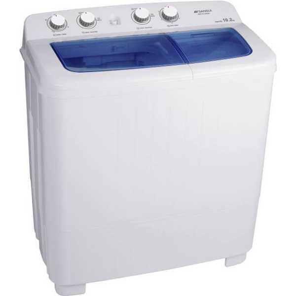 Sansui 10.2 kg Semi Automatic Top Load Washing Machine (JSX11S-2022K)