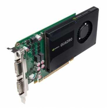 PNY Quadro K2000D 2GB GDDR5 Graphics card