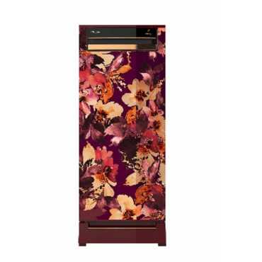 Whirlpool 215 Vitamagic Roy 200 L 5 Star Direct Cool Single Door Refrigerator (Spring) - Wine Scrletspring