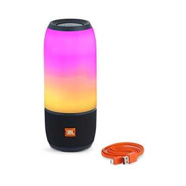 JBL Pulse 3 Bluetooth Speaker - Black   White