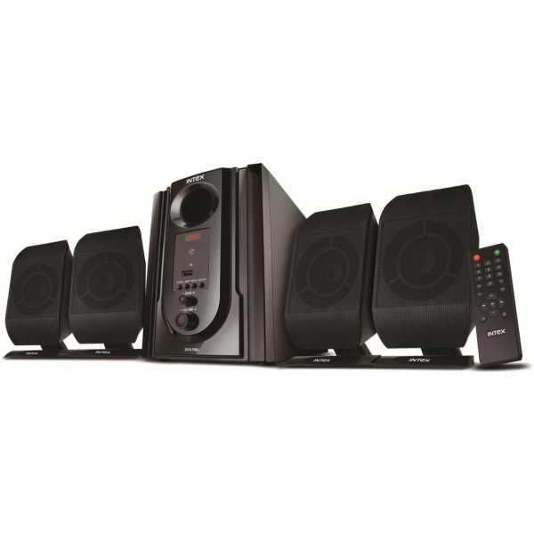Intex IT-301 FMU 4.1 Channel Multimedia Speaker