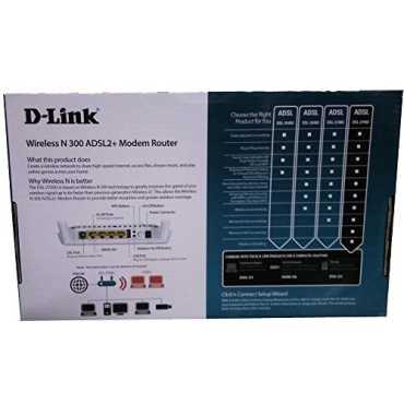 D-Link DIR-615 Wireless-N 300 Router - Black