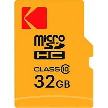 Kodak 32GB MicroSDHC Class 10 Memory Card With Adapter