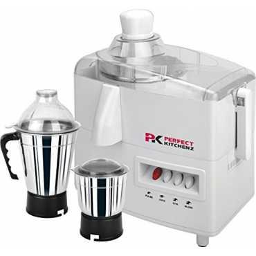 Perfect Kitchenz Kitchen Smart 500W 2 Jars Juicer Mixer Grinder - White