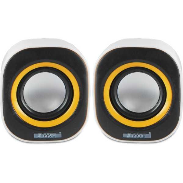 5core Moon 2.0 Speakers - Yellow