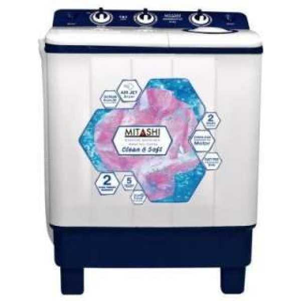 Mitashi 6.5 Kg Semi Automatic Top Load Washing Machine (MiSAWM65V35)