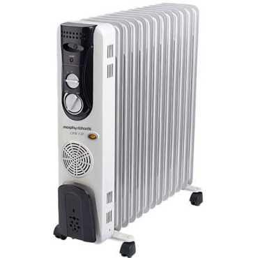 Morphy Richards OFR13F 13 Fin Oil Filled Radiator Room heater - White