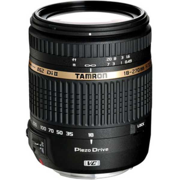 Tamron 18-270mm F/3.5 6.3 Di II VC PZD w/DA 18 Lens (for Nikon DSLR)
