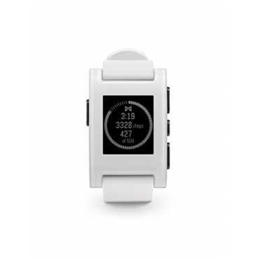 Pebble Smartwatch - Black   White