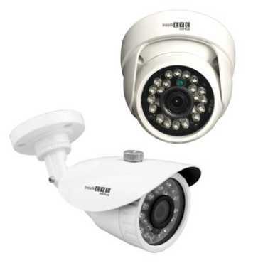 CP PLUS CP-KEC-H2DT11 Intelli EYE Camera Kit ( 1 Dome & 1 Bullet & Accessories)