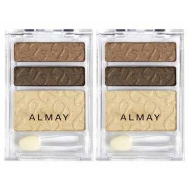 Almay Intense i Color Eye Shadow Trio (Green Eyes 034) - Green