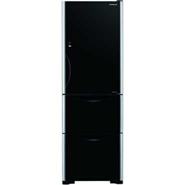 Hitachi R-SG32FPND 342L Triple Door Refrigerator - Black