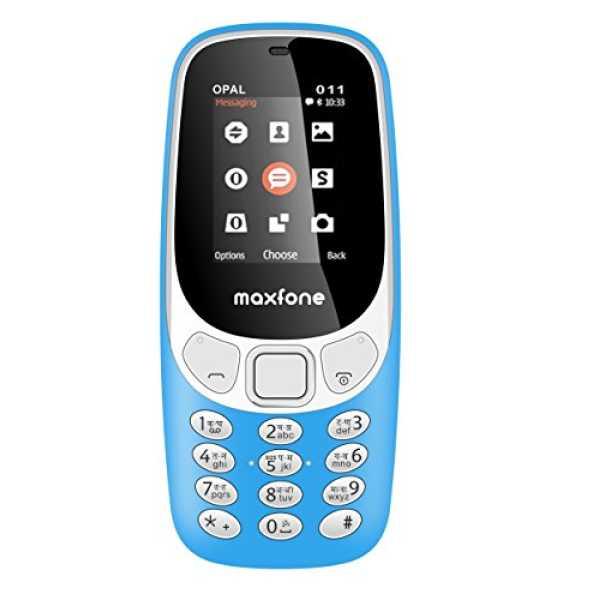 Maxfone Opal O11  - Yellow | Blue