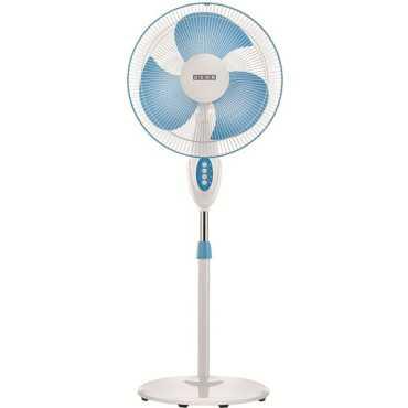 Usha Helix Pro High Speed 3 Blade Pedestal Fan - Blue | White