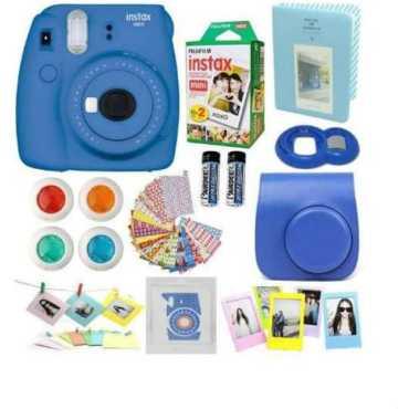 Fujifilm instax Mini 9 Instant Camera - Pink | Blue | Yellow | Green | Cobalt