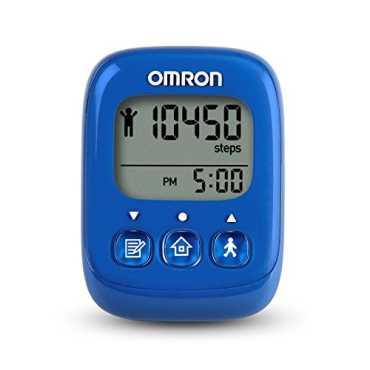 Omron HJ-325-APB Pedometer - Pink | Blue