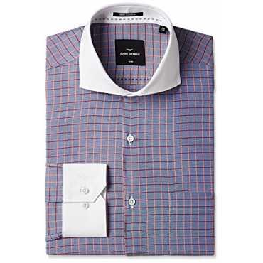 Park Avenue Men's Formal Shirt (8907254208812_PMSY08650-B5_39_Medium Blue)