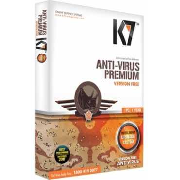 K7 Antivirus Premium 2012 1 PC 1 Year