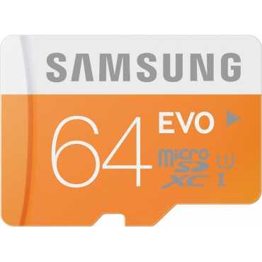 Samsung Evo 64GB MicroSDXC Class 10 (48MB/s) UHS-1 Memory Card - Orange