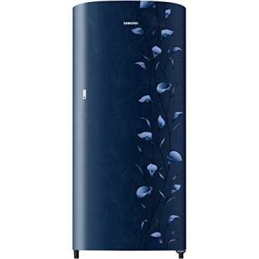 Samsung RR19N1112UZ/HL 192 L 2 Star Direct Cool Single Door Refrigerator (Lily) - Red   Blue