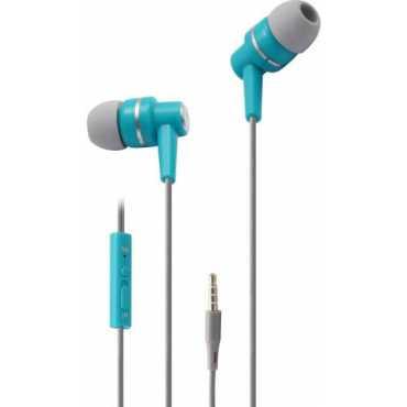 Zebronics ZEB-EM880 In the Ear Headset  - Blue | Black