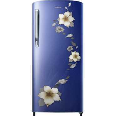 Samsung 192 L 2 Star Direct Cool Single Door Refrigerator Star Flower Blue RR19T271BU2 NL