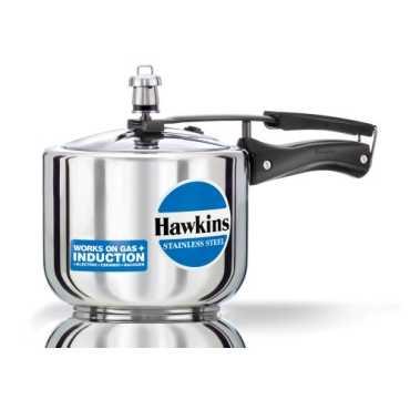 Hawkins Stainless Steel Tall B33 3 L Aluminium Pressure Cooker Inner Lid