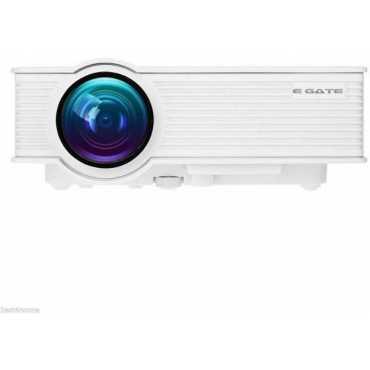 EGate I9 1500 Lumens Portable Projector - White