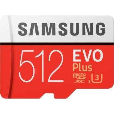 Samsung EVO Plus 512GB MicroSDXC Class 10 (100MB/s) Memory Card (With Adapter)