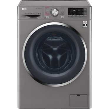 LG 10.5 Kg Fully Automatic Washing Machine (F4J8JSP2S) - Silver