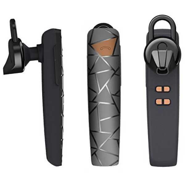 Abco Tech BL-V1 Bluetooth Headset - Black