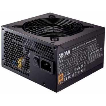 Cooler Master Master MWE 550W ( MPW-5502-ACABW-IN) 12 Watts PSU(Black) - Black