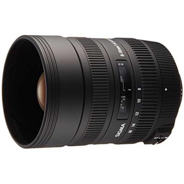 Sigma 10-20mm F/3.5 DC Lens (for Nikon DSLR) - Black