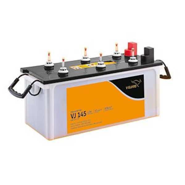 V-Guard VJ145 135AH Flat Tubular Inverter Battery