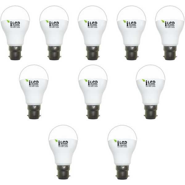 Imperial 12W B22 Premium LED Bulb (White, Pack of 10) - White