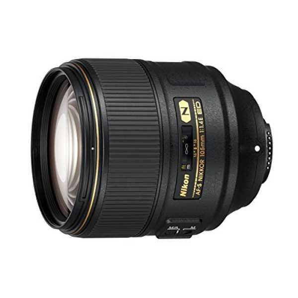 Nikon AF-S Nikkor 105mm F/1.4E  ED Lens