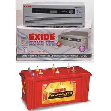 Exide 1050VA Sine Wave Inverter With Invamaster IMTT-1500 150AH Tubular Battery