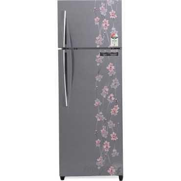 Godrej RT EON 261 P 3.4 3S  261 Litres Double Door Refrigerator (Meadow) - Silver