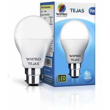 Wipro Tejas 9W B22 LED Bulb (White) - White
