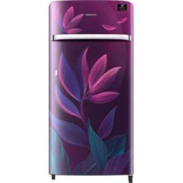Samsung RR21T2G2W9R 198 L 5 Star Inverter Direct Cool Single Door Refrigerator