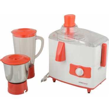 Bright Flame Cherry 450W Juicer Mixer Grinder (2 Jars)