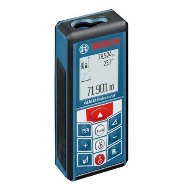 Bosch GLM 80 Laser Rangefinder - Blue