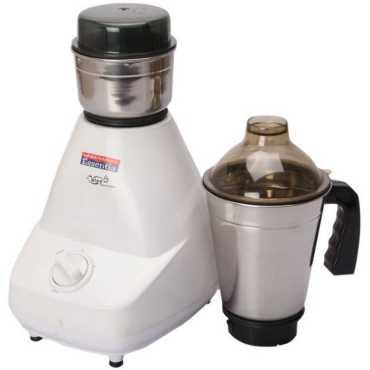 Padmini Essentia Cutee 400W Mixer Grinder (2 Jars) - White