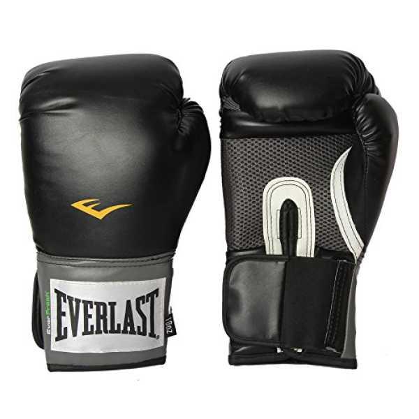 Everlast 1200013 10 Pro Style Training Gloves 10 Oz - Black